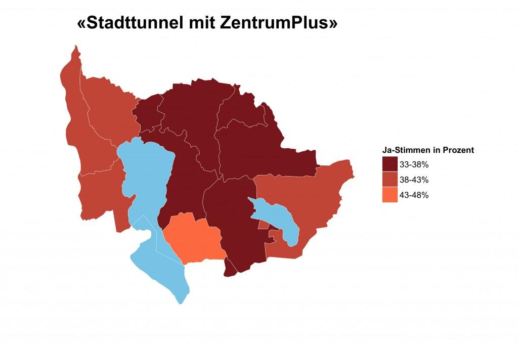 Zug-Stadttunnel