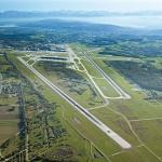 Der Flughafen Zürich aus nördlicher Sicht. Foto: Flughafen Zürich AG