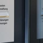 Briefkasten der Stadtverwaltung St. Gallen. Foto: Benjamin Schlegel.